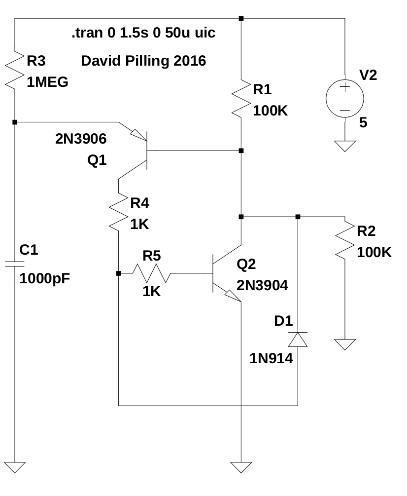 Put Part Two David Pilling Transistors How Circuit Works Electrical Engineering Stack Clamped Oscillator