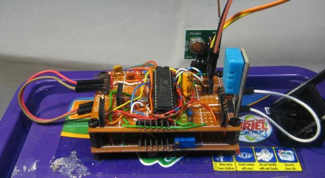 Liquid level sensor using a laser time of flight sensor | David Pilling