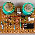 Wireless temperature sensor super cap. power supply, David Pilling