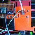 E3D v6 Bowden mount with strain gauges, David Pilling